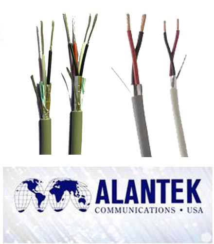 Alantek audio/control 22AWG, 4 pair cable (500m/rl)